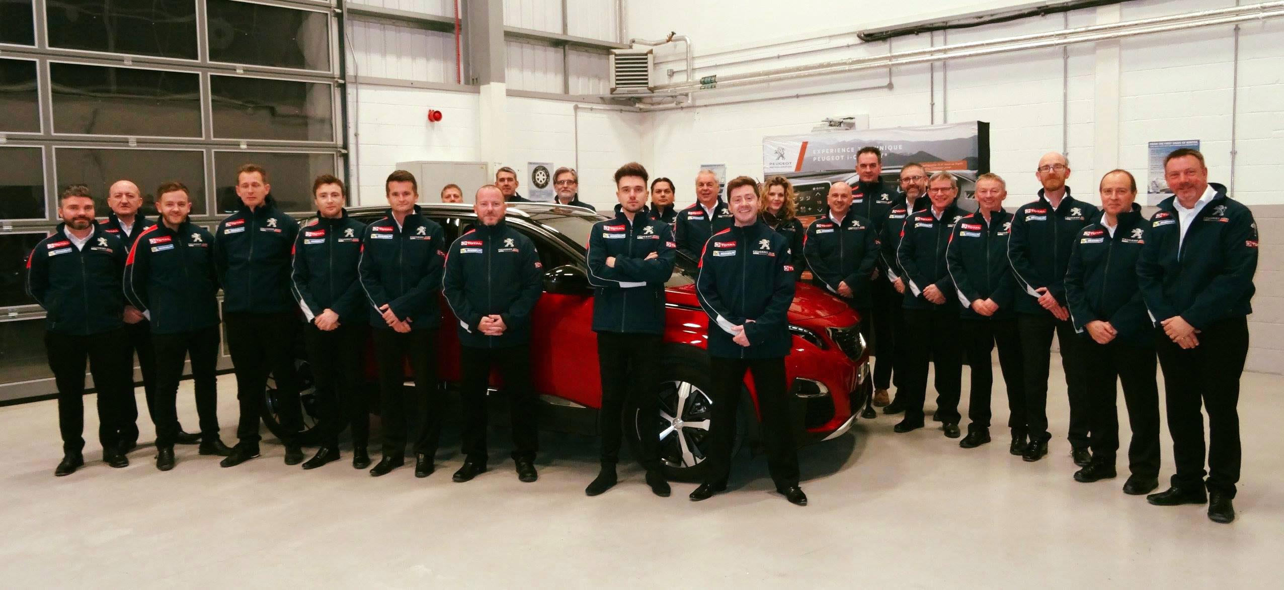 Osbourne Purdie - Case Study - Peugeot Customer Previews Team