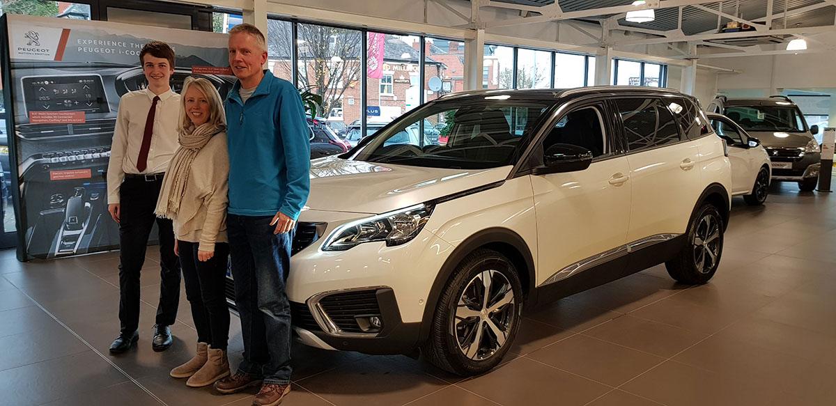 Osbourne Purdie - Case Study - Peugeot Customer Previews Dealership 03