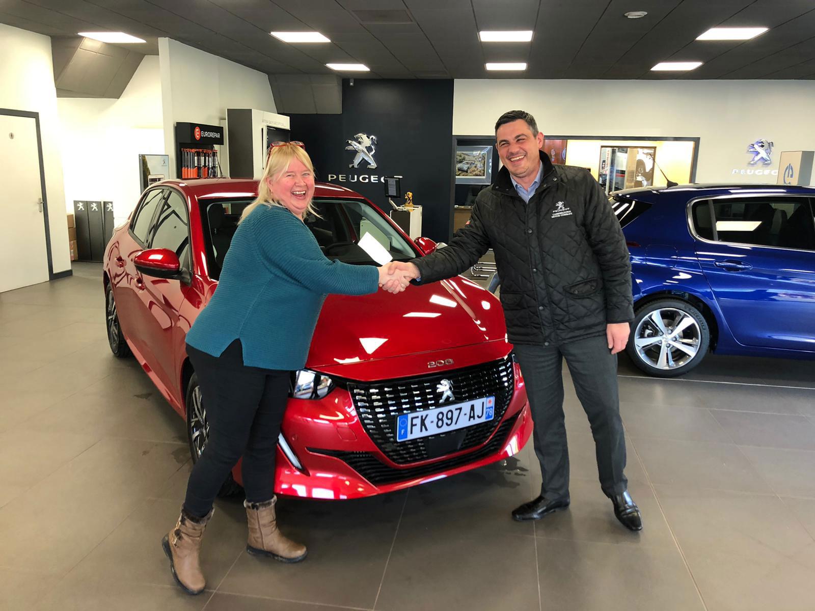 Osbourne Purdie - Case Study - Peugeot Customer Previews Dealership 05