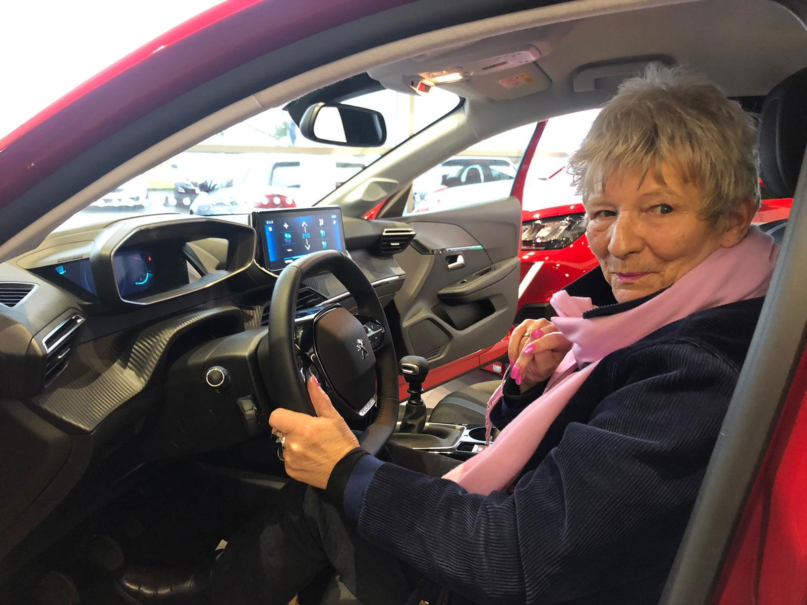 Osbourne Purdie - Case Study - Peugeot Customer Previews Dealership 06