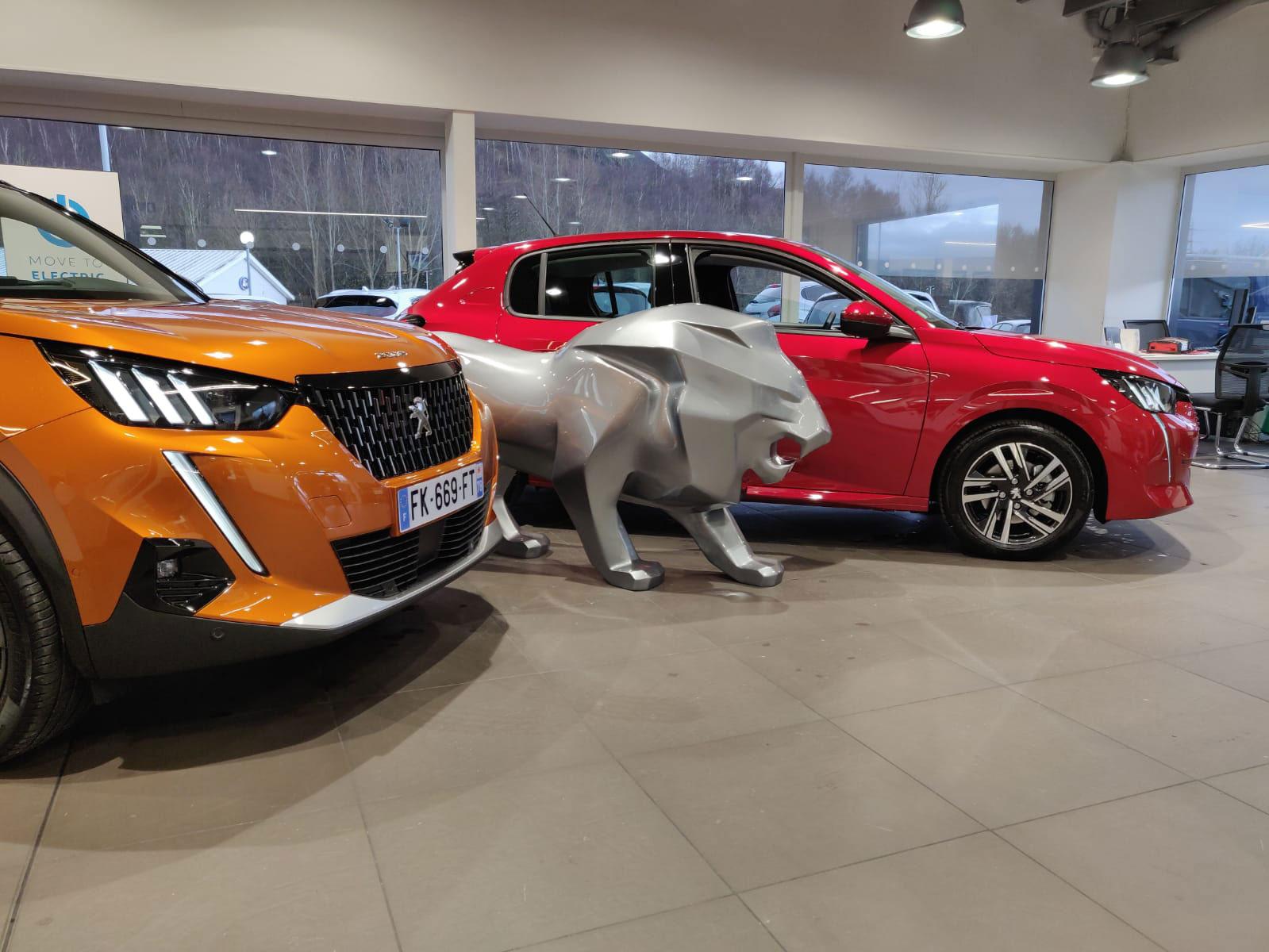 Osbourne Purdie - Case Study - Peugeot Customer Previews Dealership 07