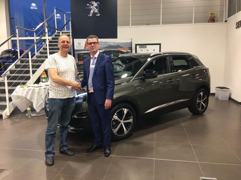Osbourne Purdie - Case Study - Peugeot Customer Previews Dealership 09