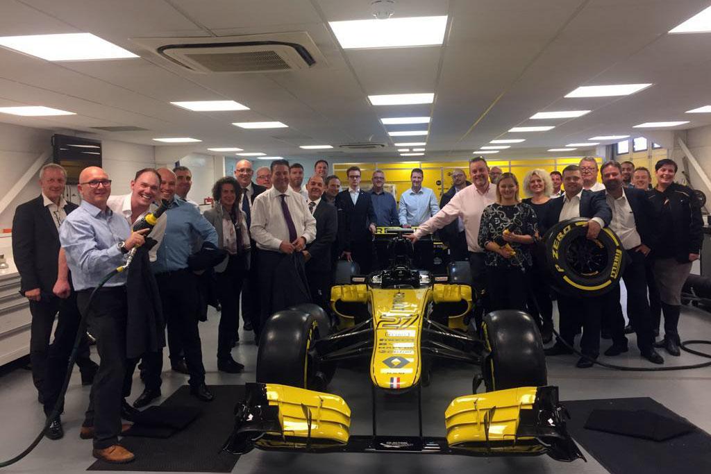 Osbourne Purdie - Case Studies - Renault UK - F1 Car